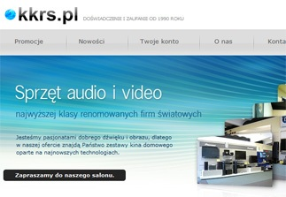 www.kkrs.pl - salon audio i video